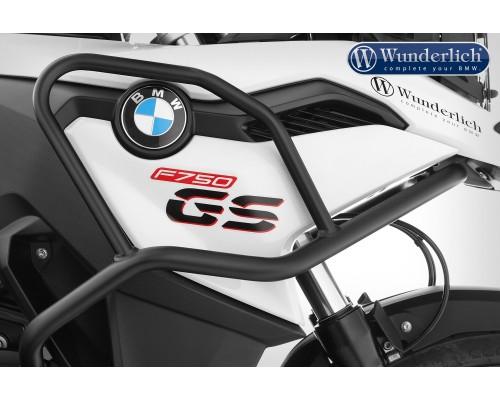Дуги защиты бака Adventure для BMW F750GS - черный