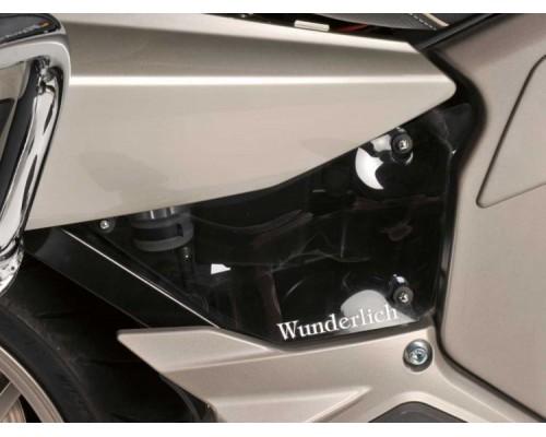 Боковые накладки на раму (комплект) BMW K 1600 GT/GTL затемненные
