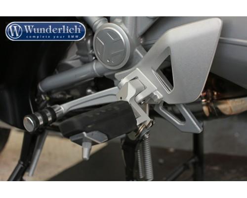 Подножки заниженные Ergo Rider BMW R1200RT (-`9-`13) серебро