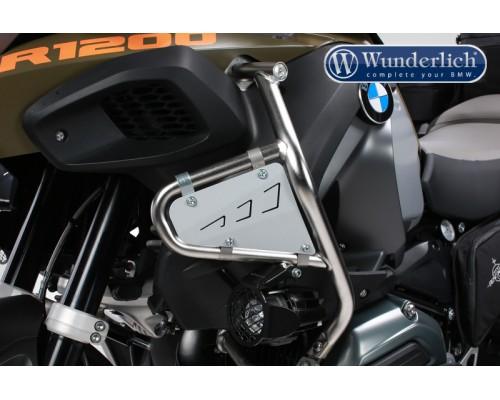 Защита бака BMW R1200GSA серебро