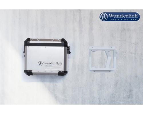 Настенные кронштейны для оригинальных боковых кофров BMW R 1200/1250 GS Adv - серебряные