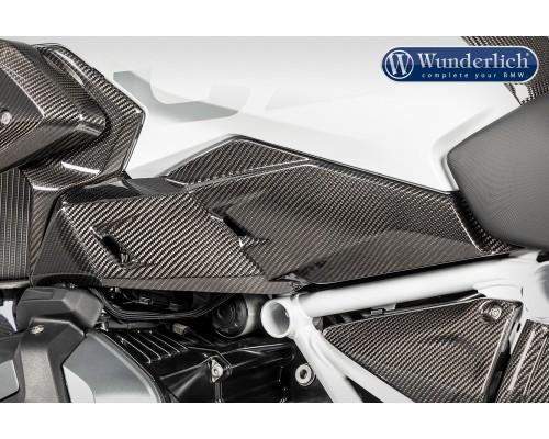 Накладка боковой нижней части бака для BMW R 1250 GS левая - карбон