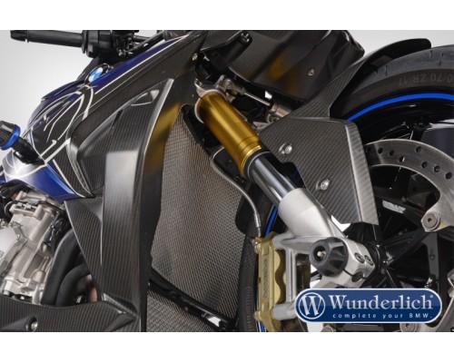 Защита радиатора охлаждения (решетка) BMW S1000XR серебро