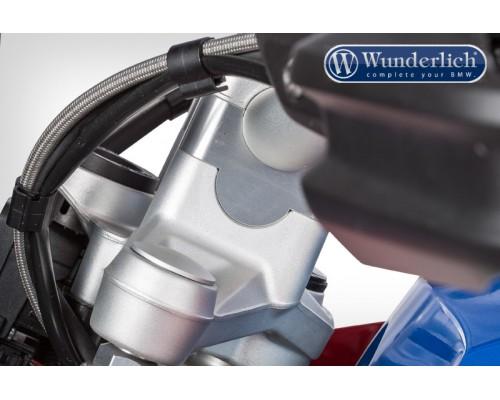 Проставки руля 25 мм BMW R1200GS/GSA/S1000XR серебро