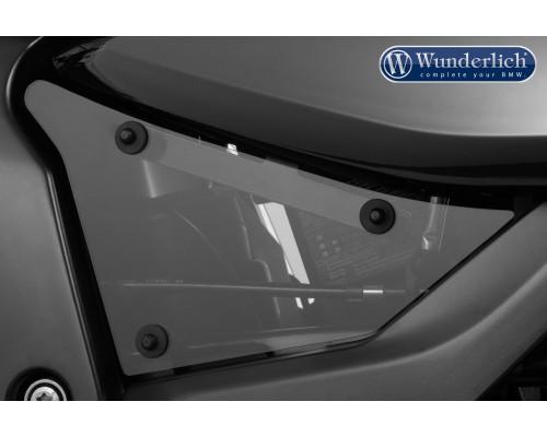 Боковые накладки в раму (комплект) для BMW K 1600 GTL (2017-) - затемненные