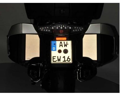 Отражающая пленка MasterReflex на кофры BMW K1600GT/GTL