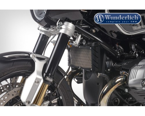Защита масляного радиатора (решетка) BMW S 1000 R/RR/S1000XR черный