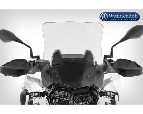 Ветровое стекло Wunderlich »EXTREME« - Длинный кронштейн (160 мм) - прозрачное