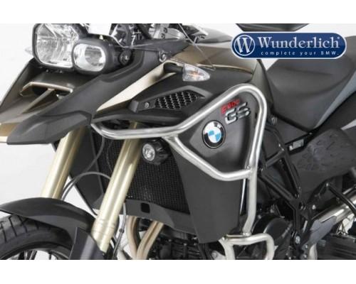 Защитные дуги бака BMW F800GSA 13-, серебро