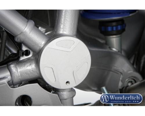 Крышка маятника (левосторонняя) BMW R1200GS/GSA/R/S/ST/R NineT серебро