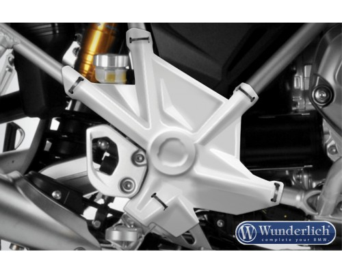Защита рамы BMW R1200GS/GSA серебро