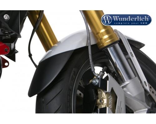 Удлинитель крыла передний BMW F800R/R1200R LC черный