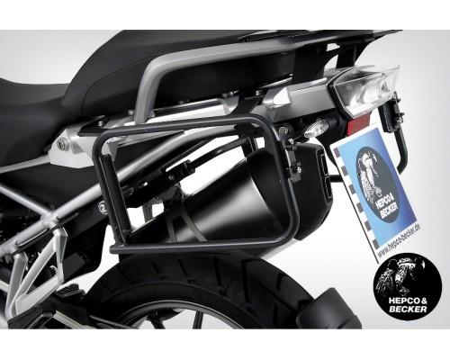 Крепление для боковых кофров H&B Lock It BMW R1200GS/GSA антрацит