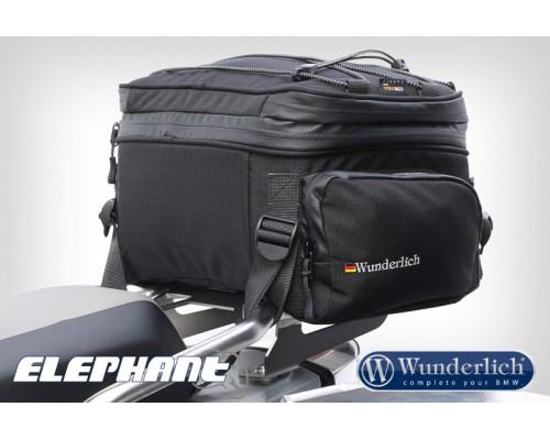 Сумка на багажник или сиденье Elephant черный
