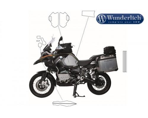Прозрачные защитные пленки VentureShield BMW R1200GSA LC (набор)