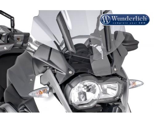 Дефлектор на стекло Wunderlich BMW R1200GS LC/GSA LC темно-серый