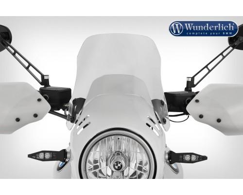 Ветровой щиток для обтекателя с тахометром - прозрачный