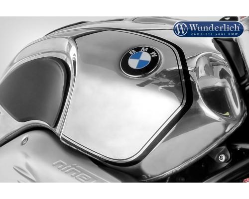 Декоративные полосы на бак BMW R nineT - черные