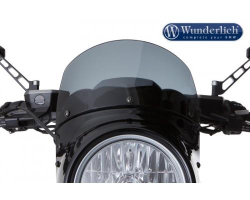 Спойлер на передний обтекатель VINTAGE BMW R NineT затемненный
