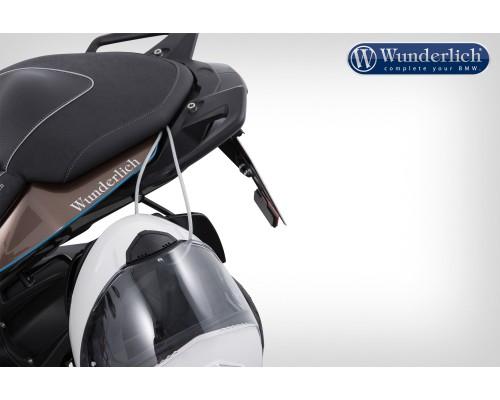 Система безопасного хранения шлемов на мотоцикле S1000XR