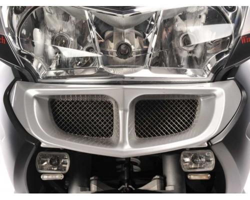 Защита масляного радиатора BMW R1200RT, серебро