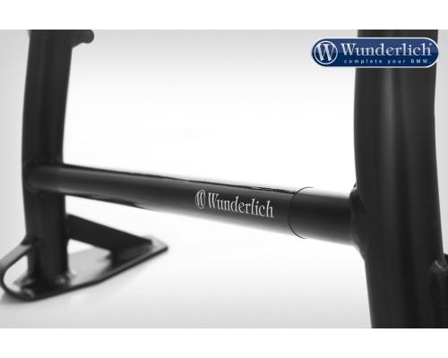 Защитная наклейка Wunderlich на центральную подножку - черный