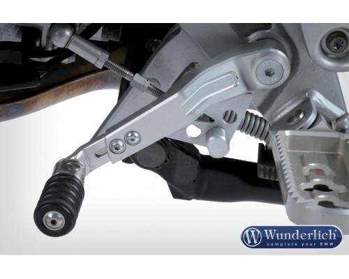 Рычаг переключения передач BMW R1200GS/GSA серебро