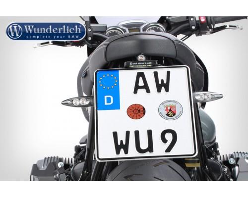 Держатель номерного знака  Devil Spor BMW RnineT- черный