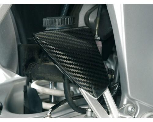 Накладка упора для ног правосторонняя BMW K1200/1300S/R/Sport карбон