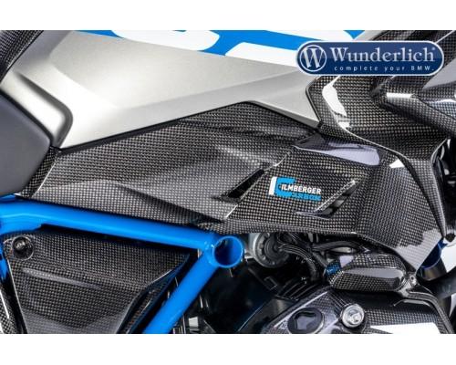 Облицовка воздушного канала для BMW R 1200/1250 GS (2017-) правая - карбон