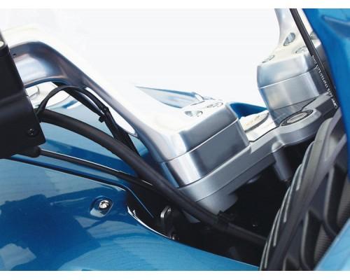 Проставки руля Vario 25 мм BMW R1100/1150/1200/850RT серебро