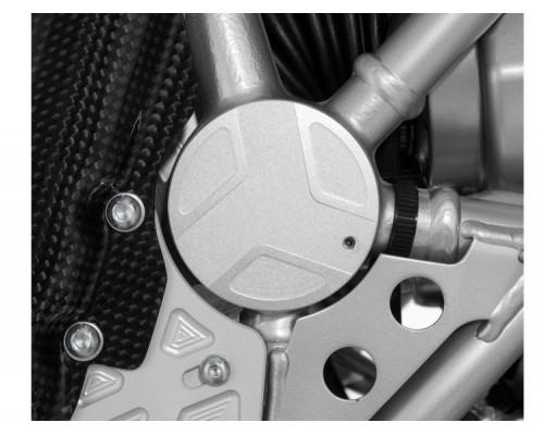 Крышка маятника (правосторонняя) BMW R1200GS/GSA/R/S/ST/R NineT - серебро