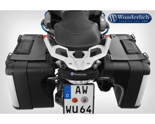 Площадки крепления багажа для оригинальных вариокофров R 1200 GS LC, комплект - черный