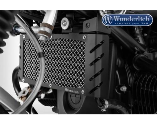 Защита масляного радиатора, черная