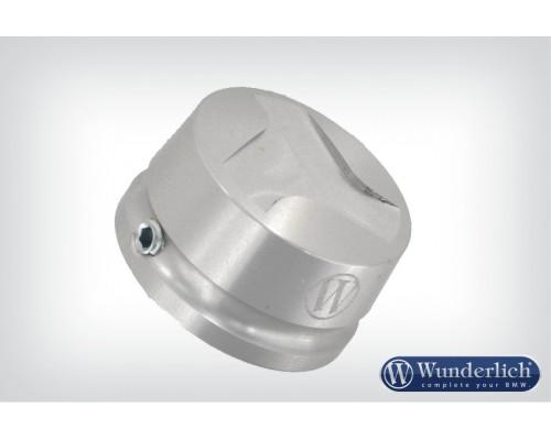 Алюминиевая крышка для системы Telelever BMW серебро