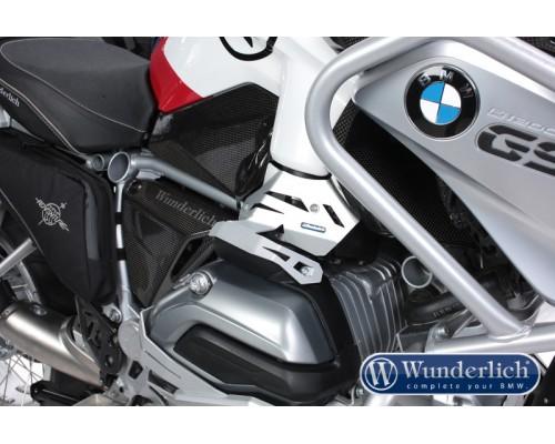 Защита инжектора BMW R1200GS LC/R LC правая серебро