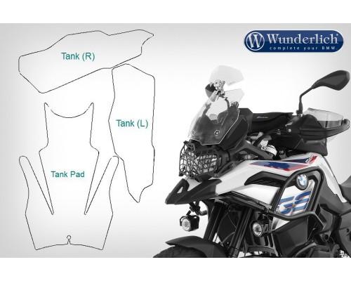 Комплект защитных пленок VentureShield на BMW F 850/750 GS - прозрачные