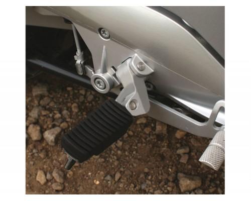 Подножки заниженные ERGO Rider BMW K 1600 GT серебро