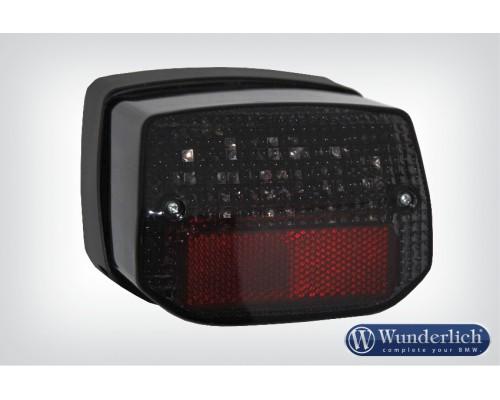Задний прозрачный LED фонарь с/без ABS - затемненный