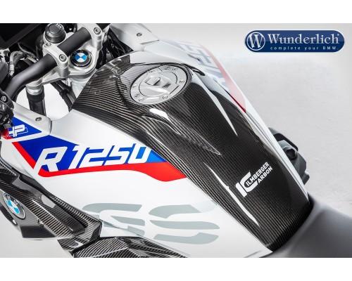 Облицовка центральной панели бака для BMW R 1250 GS - карбон
