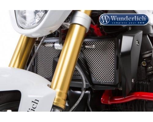 Защита радиатора охлаждения (решетка) BMW R1200R LC/RS LC черная
